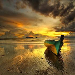 by Jasen Tan - Transportation Boats