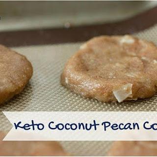 Keto Coconut Pecan Cookies