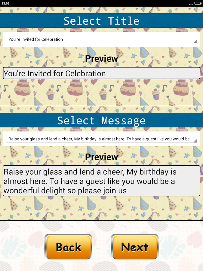 Birthday Invitation Card Maker - Android Apps on Google Play