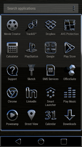MOSCOW Theme app for Android screenshot