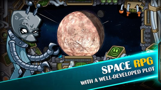 Space Raiders RPG 3.1 Android Mod APK 2