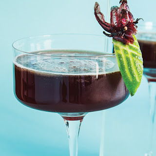 Cherry Chocolate Bourbon Cocktail.