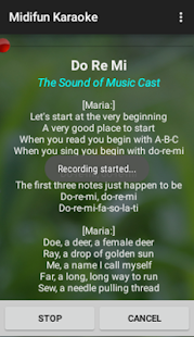 Midifun Karaoke- screenshot thumbnail