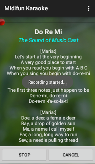 Midifun Karaoke- screenshot