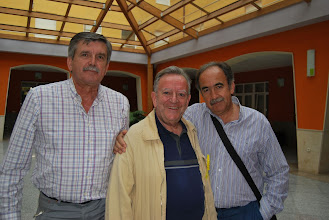 Photo: Quique, Alcalde y Josemari