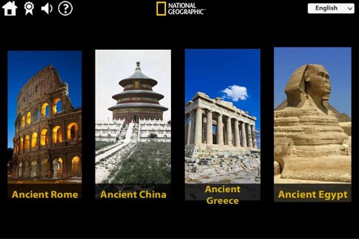 android 4D NatGeo Ancient Civilization Screenshot 0