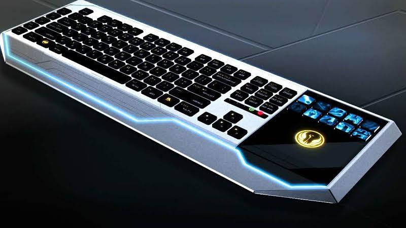 keyboard untuk penggemar star wars