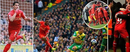 Norwich vs Liverpool 2014 Highlights 2-3 (Extended Motd Video)