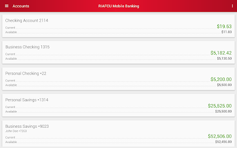 RIAFCU Mobile Banking screenshot 14