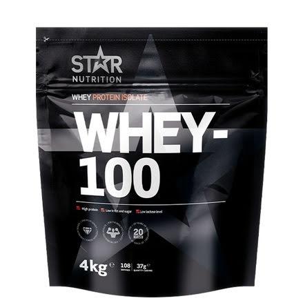 Star Nutrition Whey 100 4kg - Strawberry