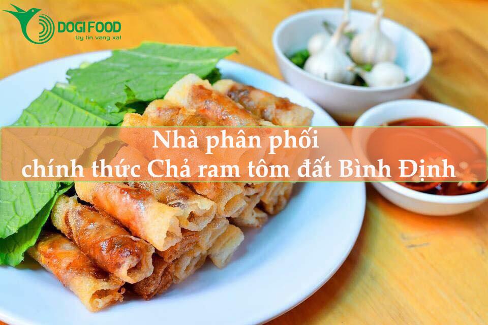 DOGI FOOD - nhà phân phối sản phẩm Chả ram tôm đất Bình Định