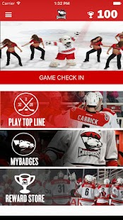 Charlotte Checkers App- screenshot thumbnail