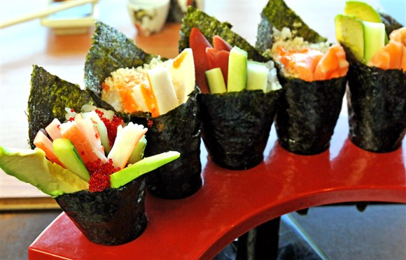 Hand Rolls ( 1 pcs cone style)