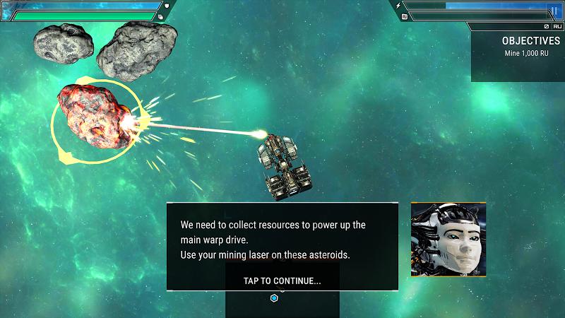 Starlost - Space Shooter Screenshot 1