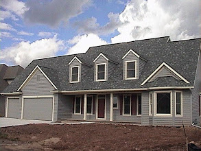 Photo: First Spec Home!