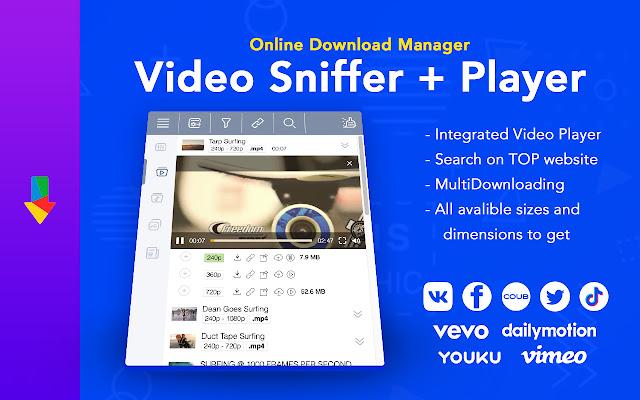 ODM - PRO online video and media downloader