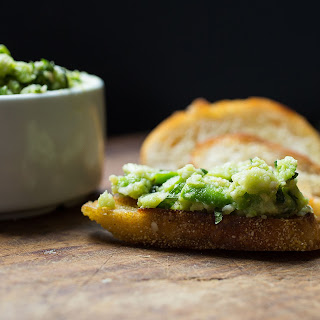 Fava-Mint Pesto