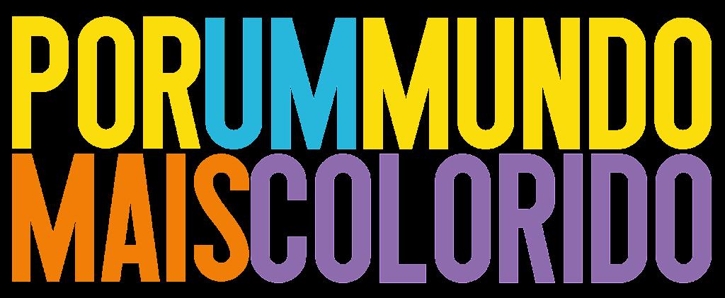 por um mundo mais colorido capa