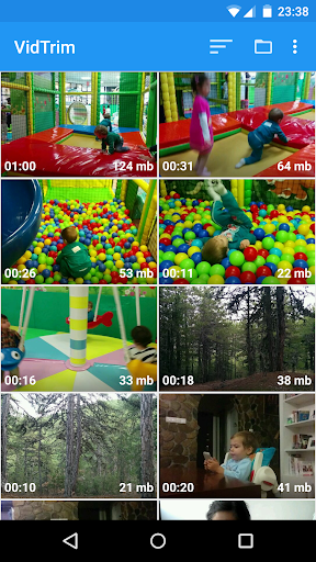 VidTrim  Video Trimmer  screenshot 1