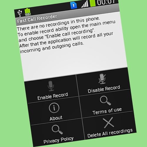 Fast Call Recorder
