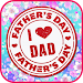 Father's Day Quotes Cards Icon