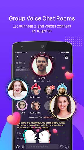 Hello Yo – Free Voice Chat Rooms 1.11.3 screenshots 1