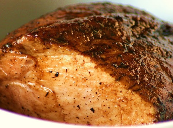 Preheat oven to 375 degrees. Trim any excess fat, and rinse pork under cold...