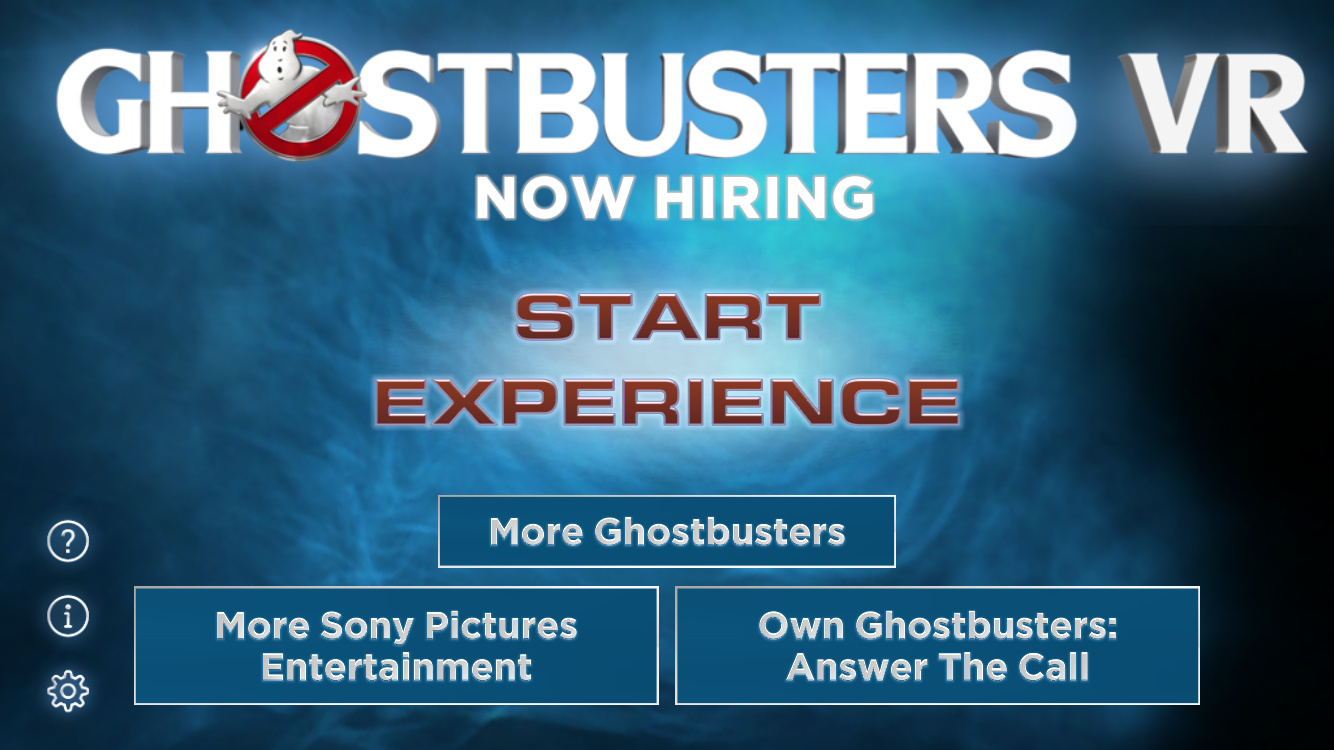 Ghostbusters VR - Now Hiring!- screenshot