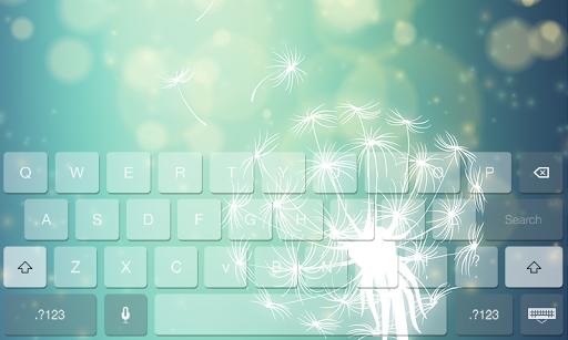 Dandelion Cute Theme Keyboard