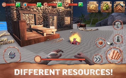 Dinosaur Hunt Survival Pro game for Android screenshot