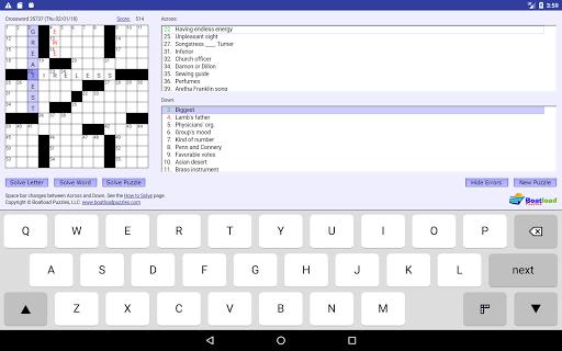 Daily Crosswords 2.0 Mod screenshots 4
