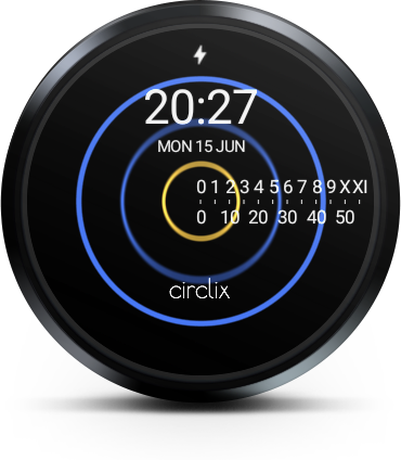 Circlix Watch Face- screenshot