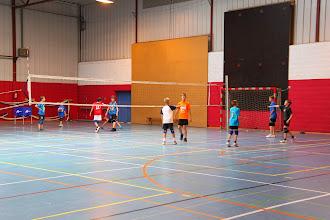 Photo: toch maar weer volleyballen voor 't plezier,