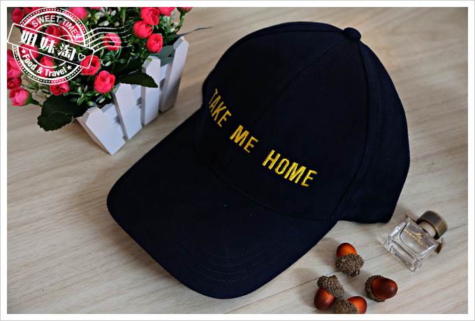 客製化文字的鴨舌帽