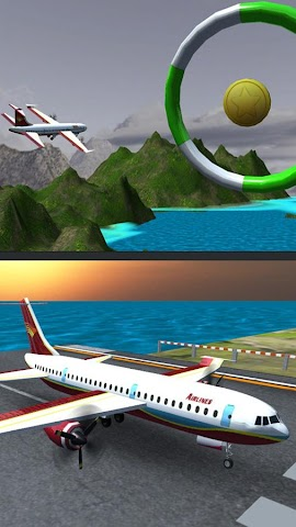 android Airplane Fly Simulator Flight Screenshot 7