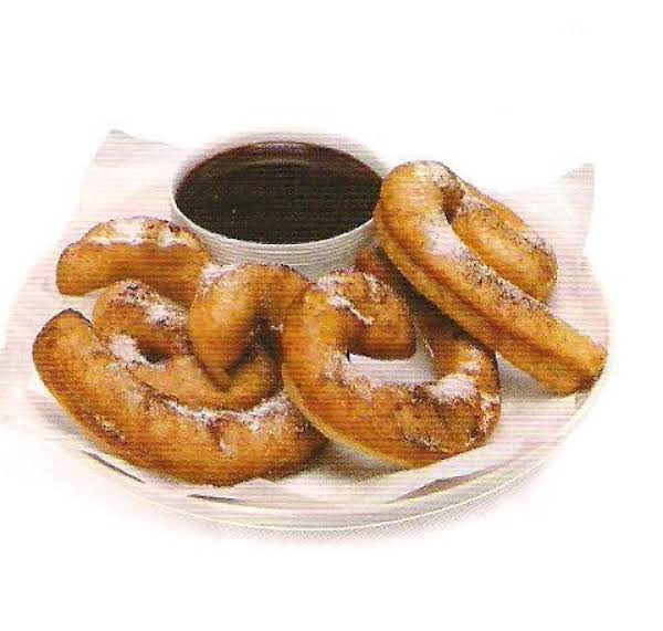 Churros With  Chili Dipping Sauce Recipe