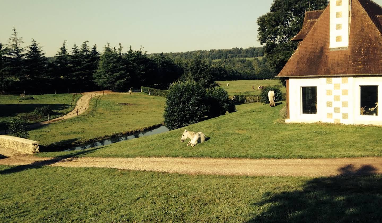 Propriété avec jardin Lisieux