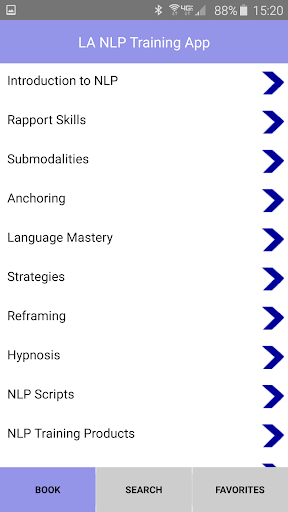 Screenshot for NLP Practitioner Training App in United States Play Store