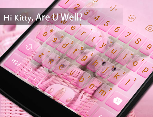 Hi Kitty Emoji Keyboard