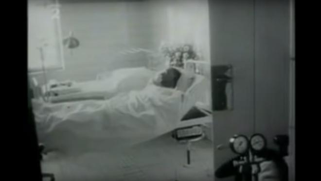Ян Палах в лікарні