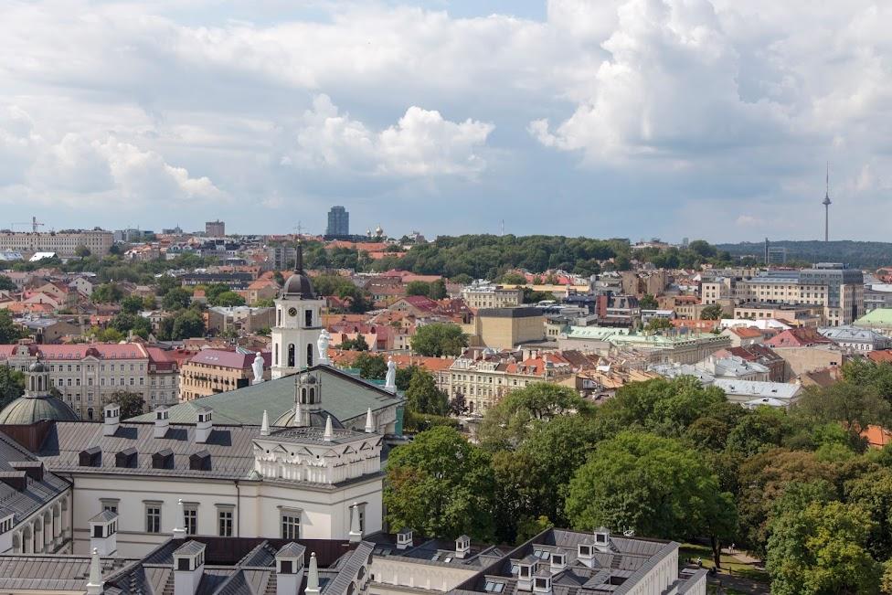 Wilno, panorama miasta