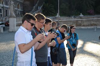 Photo: Celodenní návštěva Říma ve středu 10. června 2015 (momentky studentů).