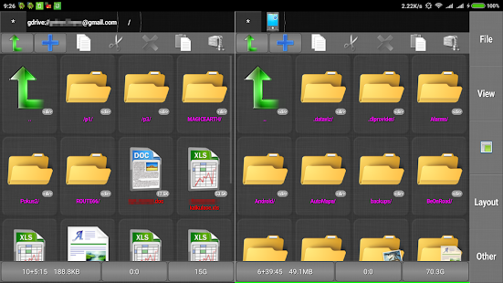 File manager / commander HD- screenshot thumbnail