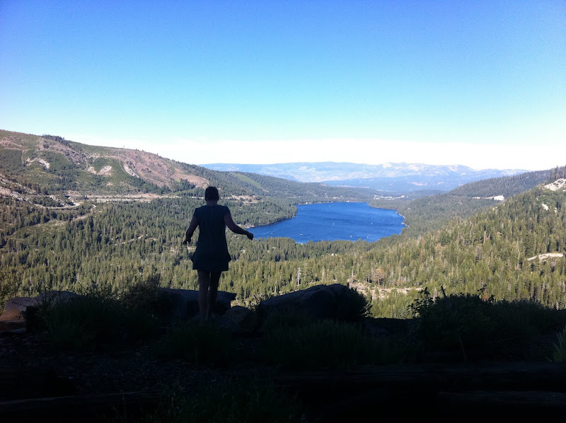 Photo: View of Donner Lake from the summit