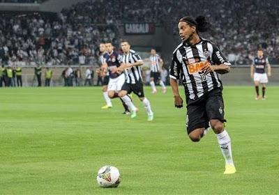 Ronaldinho quitte l'Atlético Mineiro