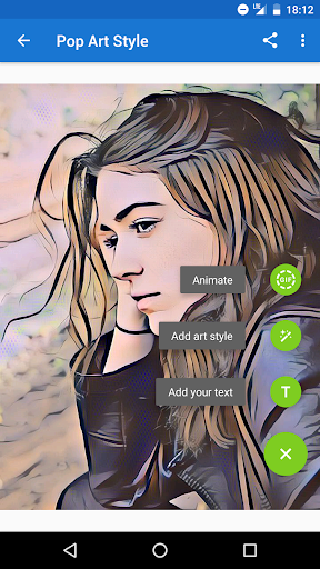 Photo Lab Picture Editor: face effects, art frames screenshot 7