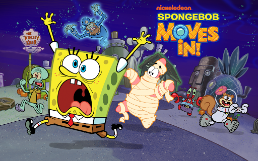 Screenshot for SpongeBob Moves In in United States Play Store