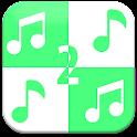 Green Piano Tiles 2 icon