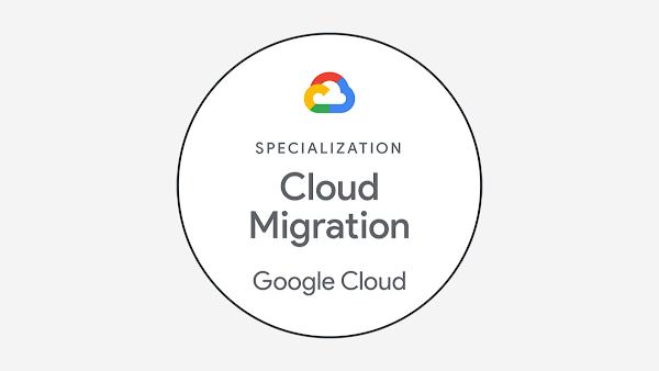 Google Cloud Partner Advantage Cloud Migration Specialization badge