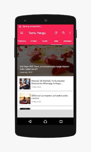 Tamu Yangu - wakubwa tU screenshot 6